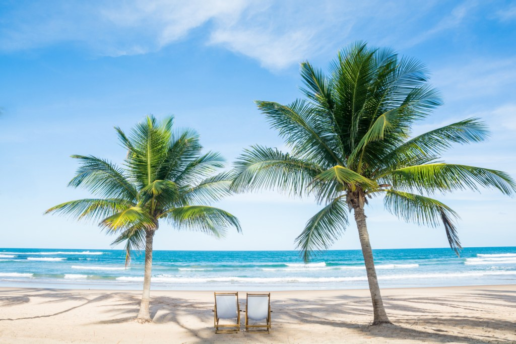 Gulf Coast Beach in Florida