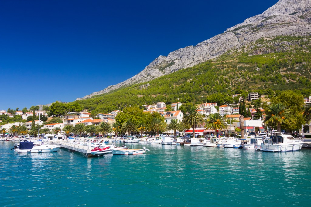 Port of Baska Voda