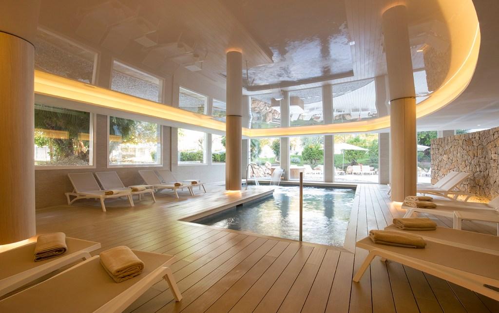 Spa Pool at the Canyamel Park Hotel & Spa