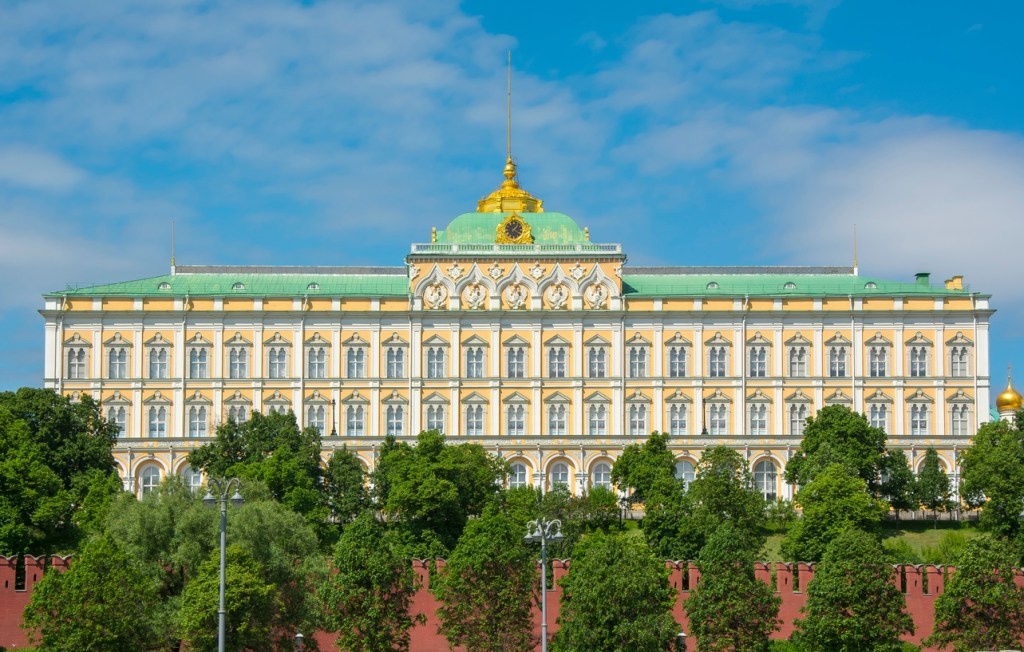 Grand Kremlin Palace in Moscow, Russia