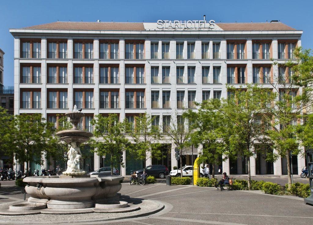 Rosa Grand Hotel in Milan