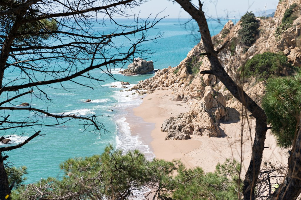 Costa Brava has many quaint beaches