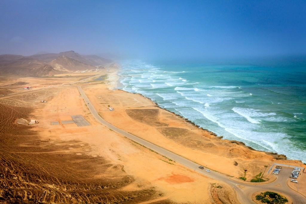 Al Mughsayl Surfing Beach