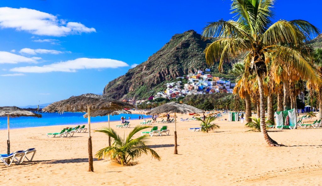 One of the most popular and beautiful beaches in Tenerife. Las Teresitas