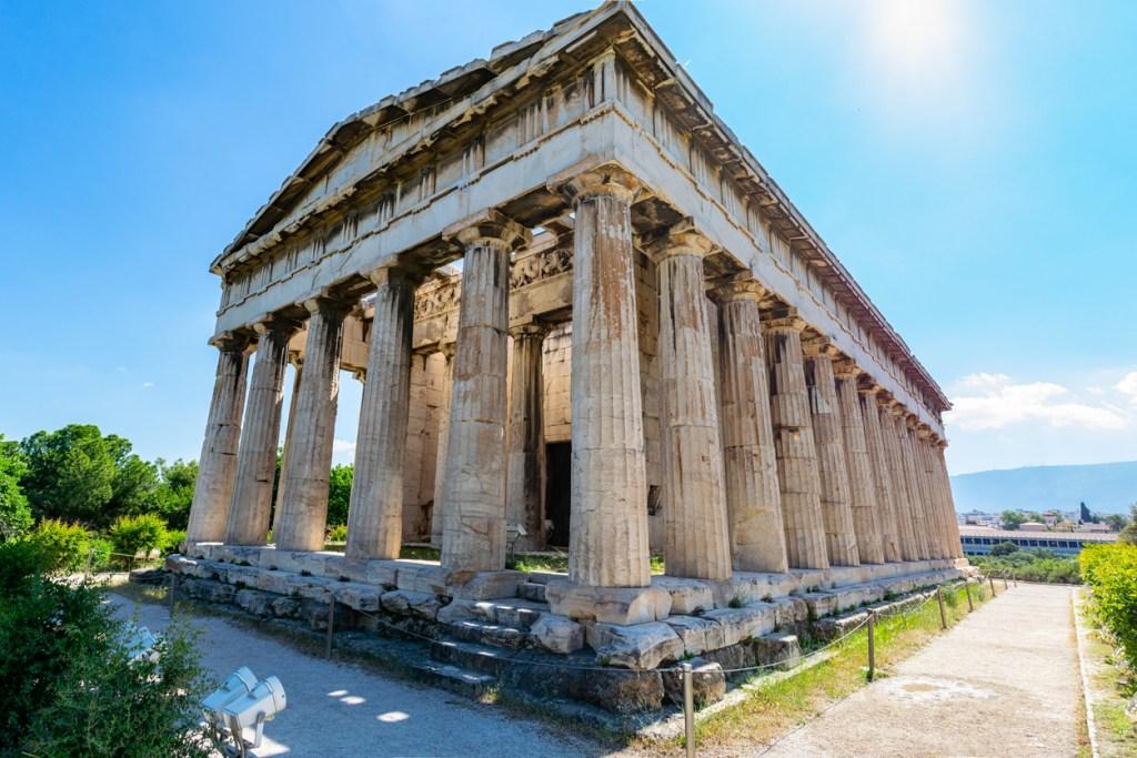 Temple of Hephaestus in Agora, Athens