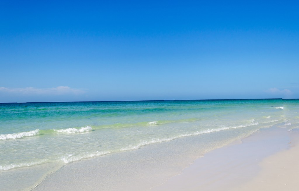 A beautiful pristine beach located in Siesta Key