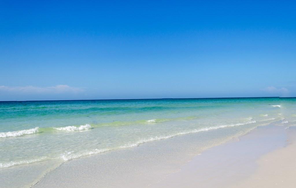 A beautiful pristine beach located in Siesta Key