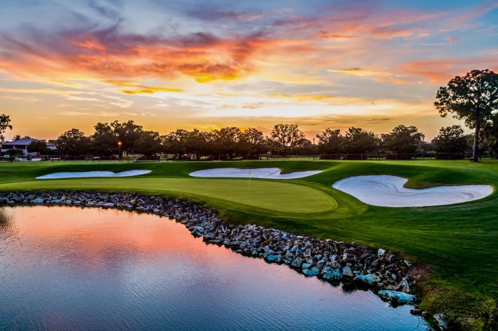 Bay Hill Club Golf Course Sunset