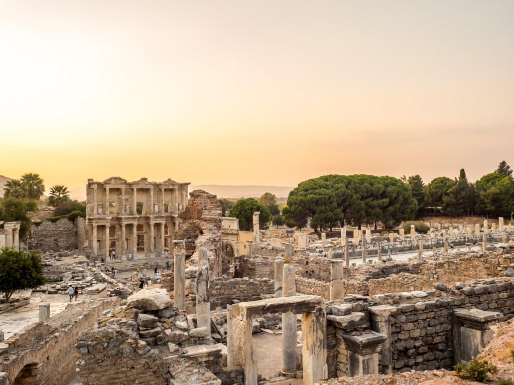 Ephesus the UNESCO World Heritage Site.