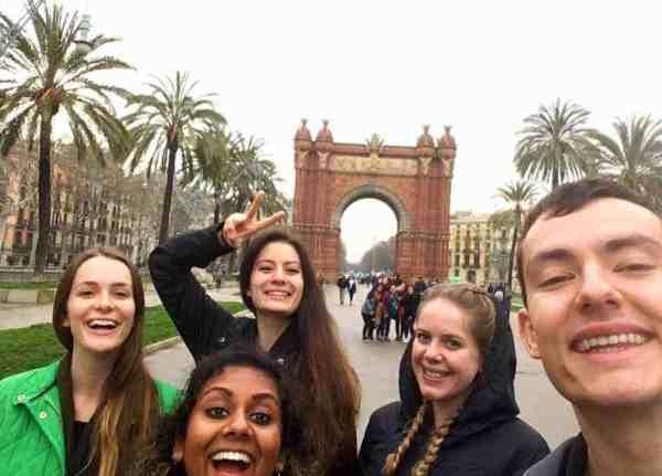group travel barcelona