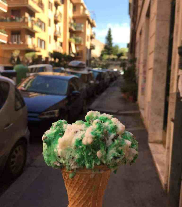 mint gelato rome italy eileen cotter wright