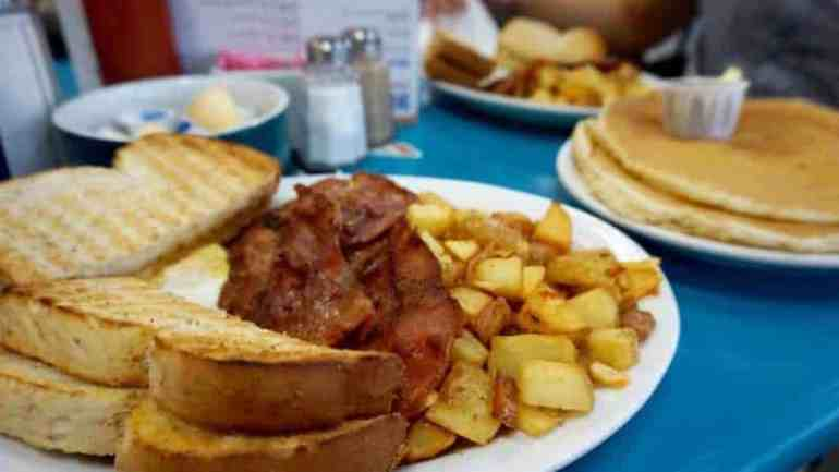 the blue diner breakfast canadda