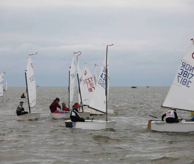 Today Was The Second Day Of Nordic Youth Sailing Championships And Three Races Took Place