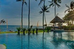 Taman Ahimsa Villa - Pool and View