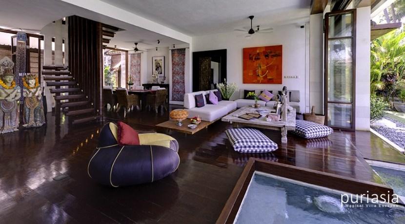 Villa Maya - Living area