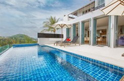 Napalai Surin Villa - Outdoor pool area