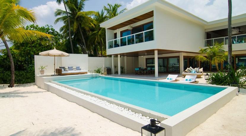 Amilla 4 Bedroom Villa Residences - Villa and Pool