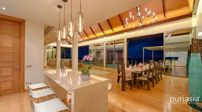 Malawana Villas - Living and Dinning Spaces