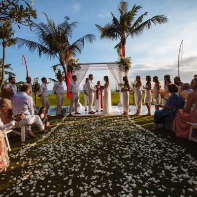 Sungai Tinggi Beach Villa - Stunning wedding backdrop