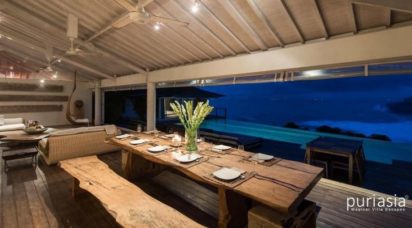 Villa Tranquilla - Dining Room