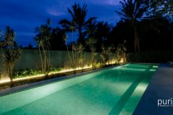Casabama Villas - Pool at Night
