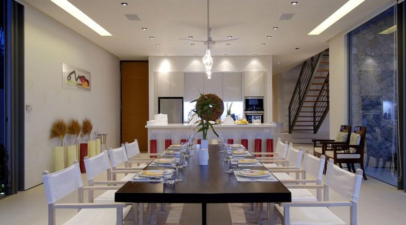 Villa Malee Sai - Dining area design