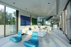 Villa Aqua - Living area