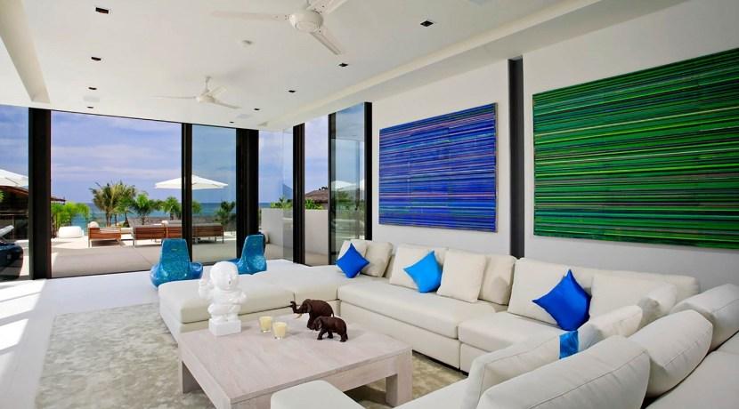Villa Aqua - Living area outlook