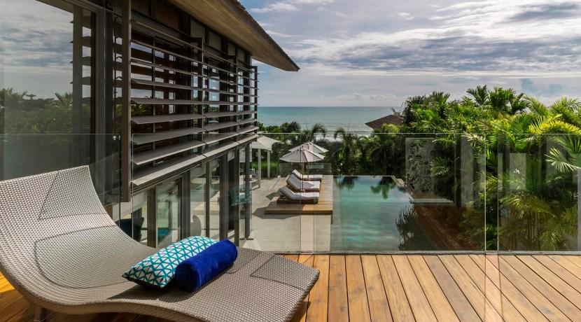 Villa Roxo - Bedroom's balcony