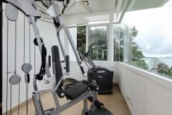 Villa Sapna - Gym with a view