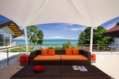 Villa Sapna - Outdoor Living Area Backdrop