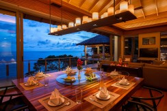 Villa Baan Banyan - Dining room in the evening