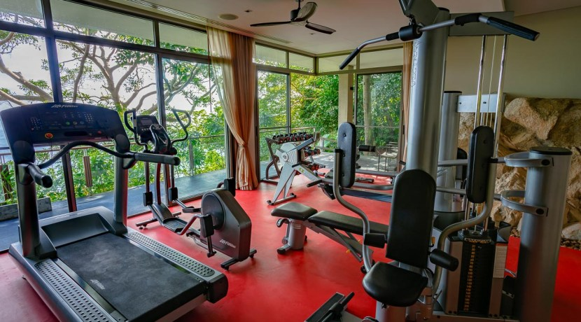 Villa Baan Banyan - Fully equipped gym