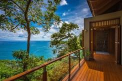 Villa Baan Banyan - Suite Room 1 balcony with outdoor shower