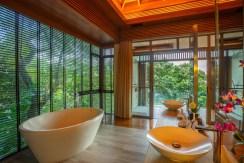 Villa Baan Banyan - Suite Room 2 ensuite bath with a view