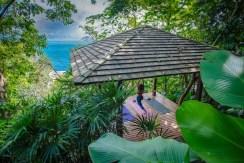 Villa Baan Banyan - Yoga Sala surrounded by nature