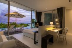 Villa Abiente - Bedroom by the night