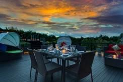 17-Villa-Aiko---Outdoor-area-at-sunset