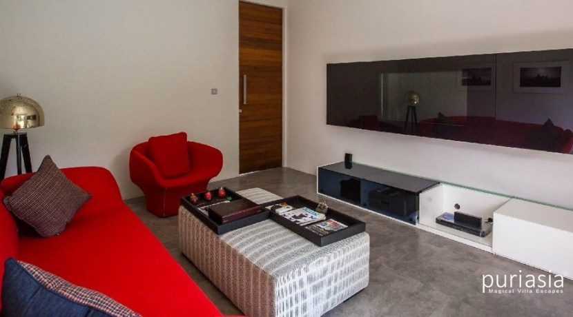 Villa Delfino - Entertainment Room