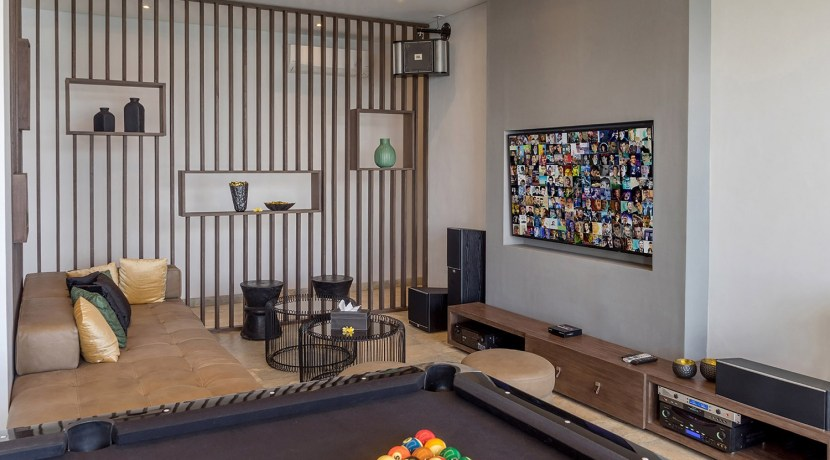 Villa Grand Cliff Nusa Dua - Entertainment room