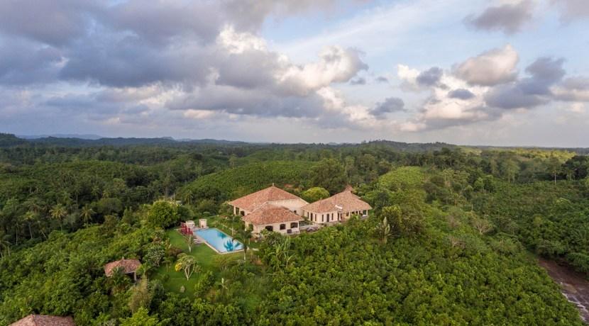 Villa Mayurana - Aerial