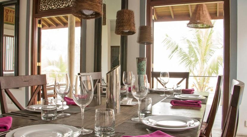 Villa Saldana - Dining Area