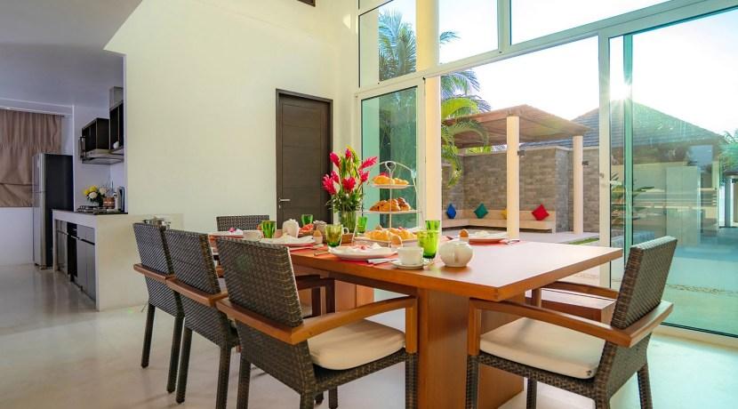 Villa Yaringa - Dining area