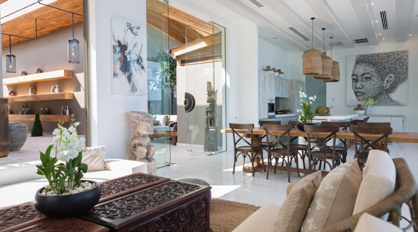 Villa Kirana - Living and Dining Area
