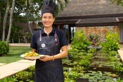 Villa Chada - Chef and her cuisine