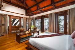 Villa Chada - Master bedroom design