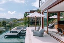 Villa Tebing - Poolside relaxation