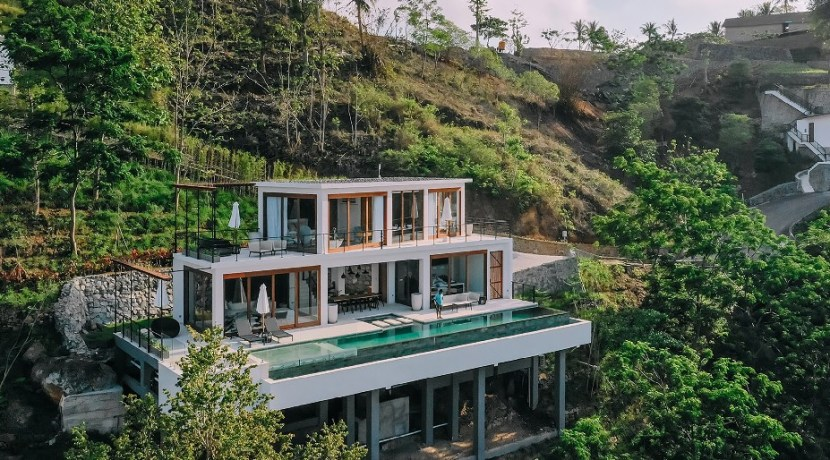 Villa Tebing - Aerial
