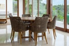 Villa Sandbar - Dining area setting