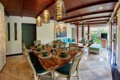 Villa Anggrek - Dining and Living